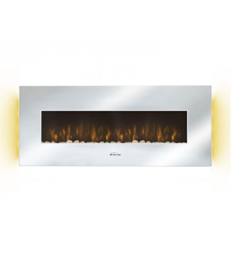 Chimenea Eléctrica de pared Purline LED CHE-510