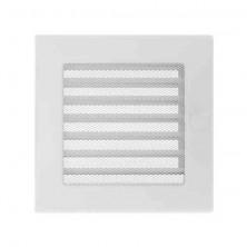 Rejilla obturable cuadrada 17x17 cm blanca