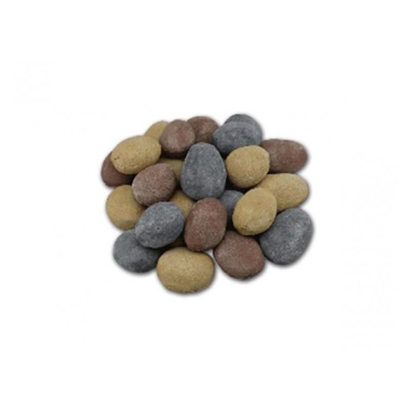 Piedras decorativas de colores