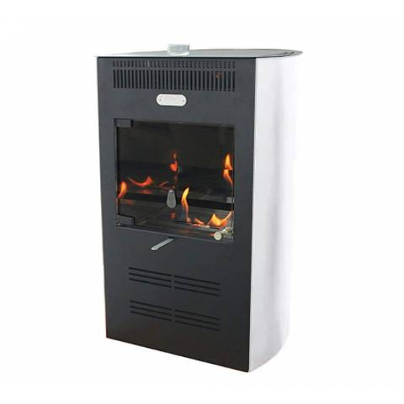 Estufa de bioetanol ventilada Elegance Blanca