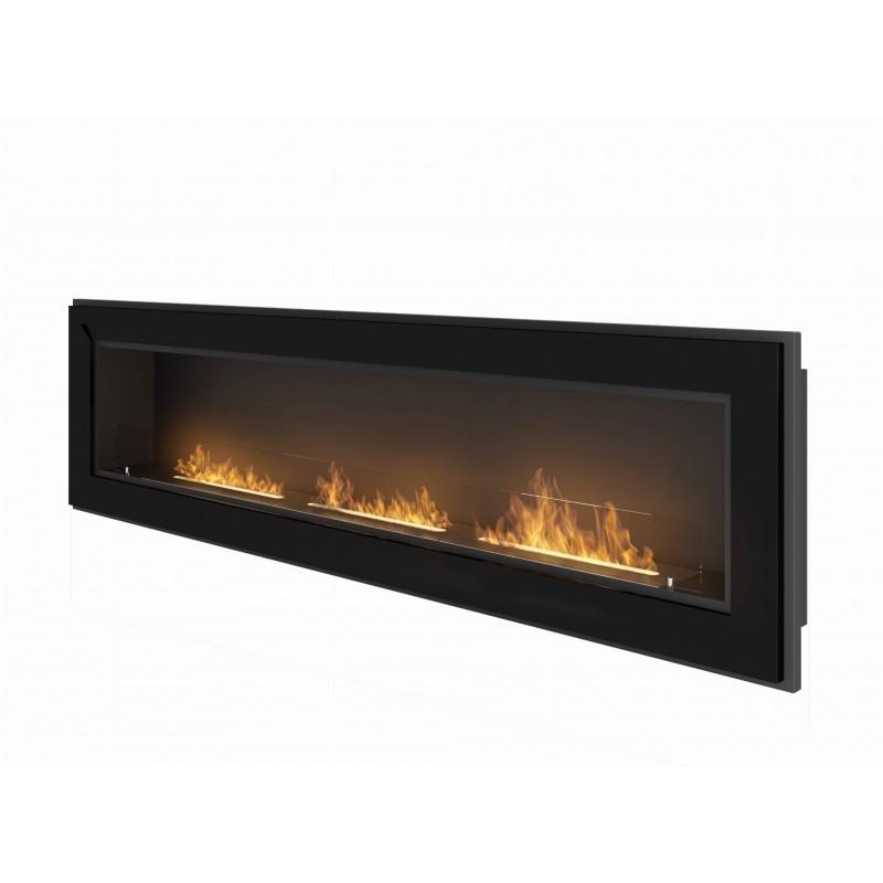 Simplefire Frame 1800 negra - El Club del Fuego