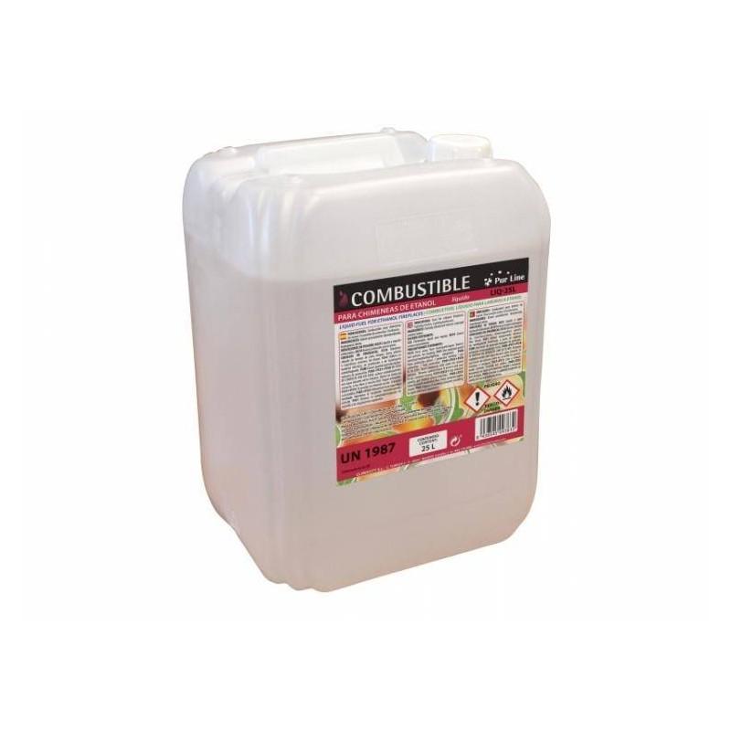 Garrafa bioetanol líquido 25 litros