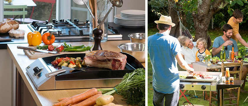 ¿Cómo elegir una buena plancha de cocina?
